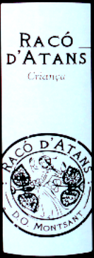 Raco d'Atans Montsant DO