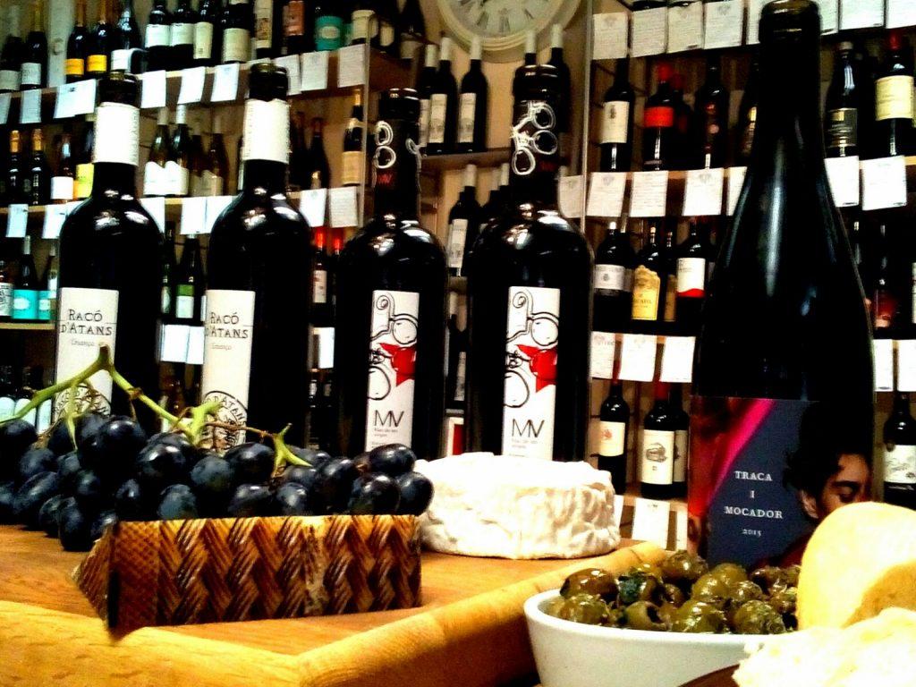 Tasting Wines Traca i Mocador Vinopolis Cambridge
