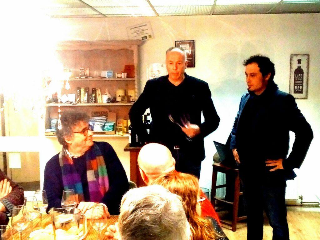 Wine taste Mas de les Vinyes Montsant & Vinopolis Cambridge